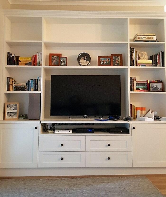 Built in TV unit